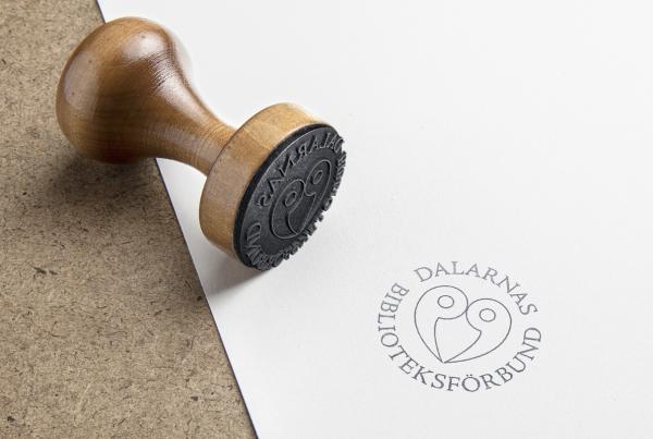 Logotyp Dalarnas Biblioteksförbund