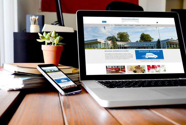 Responsiv hemsida till Domnarvsgården