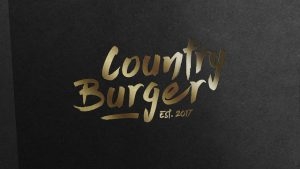 Country burger logotyp